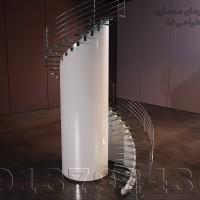 پله در revit Architecture